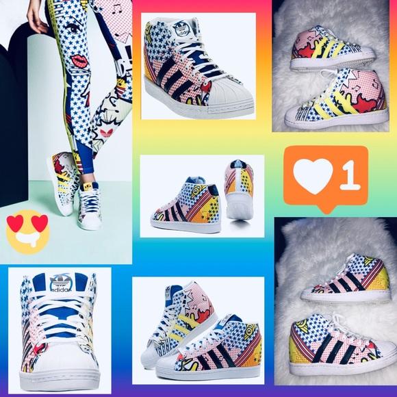 Superstar Wedge Ora Adidas Rita Up Sneakers odrxBCe